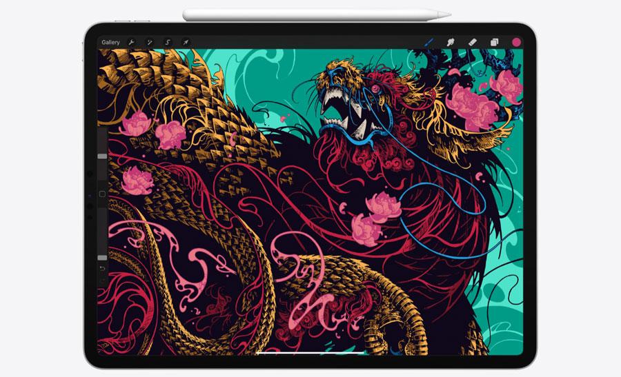 New iPad Pro tablet