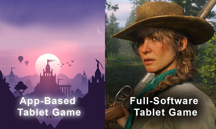 Standalone tablet graphics comparison