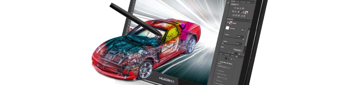 Graphics tablet for 3D modeling