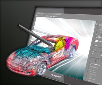 Graphics tablet for 3D modeling