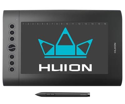 Huion H610 Pro Drawing Pen Graphics Tablet Review