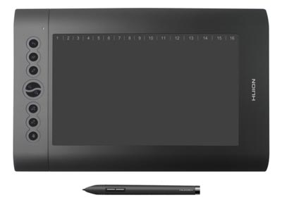 huion h610 pro graphics drawing pen tablet