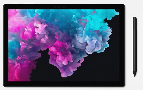 Microsoft Surface Pro 6 photographer tablet