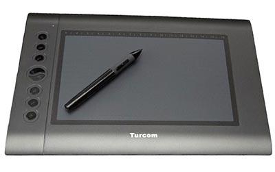Turcom drawing tablet