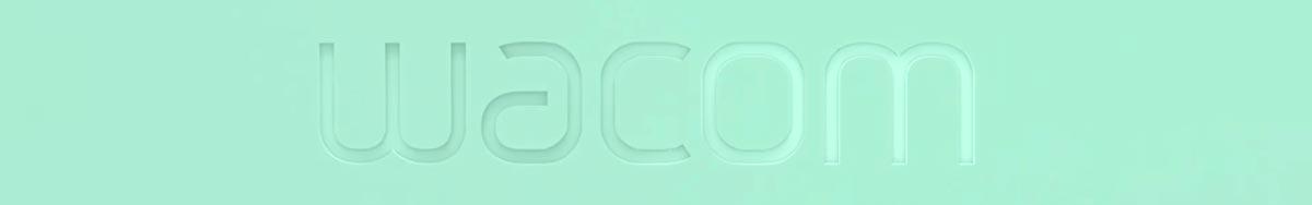 Wacom pistachio logo horizontal