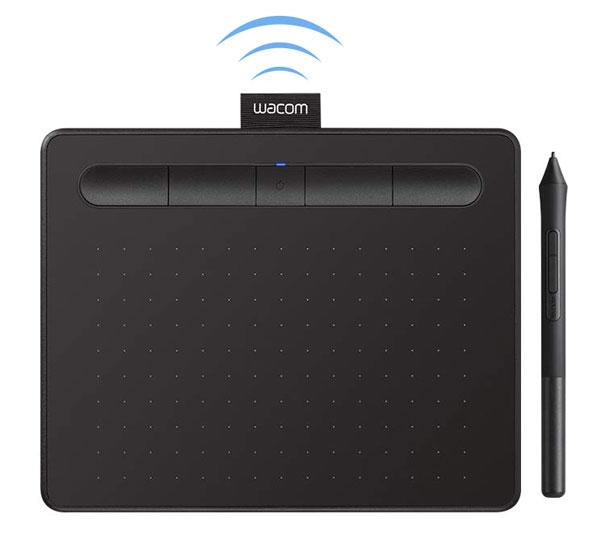 Wireless Wacom Intuos drawing tablet