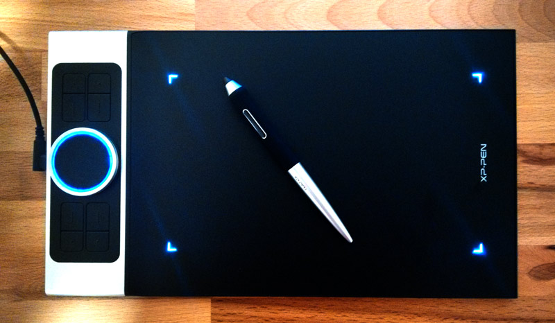 XP-PEN Drawing Tablet Dial Turned On