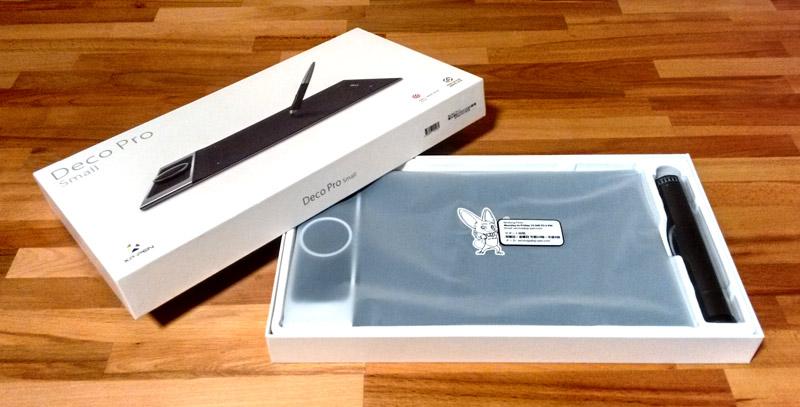 XP-PEN Drawing Tablet Box