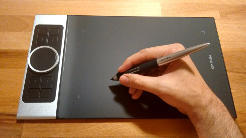 Deco Pro Drawing Tablet Hand