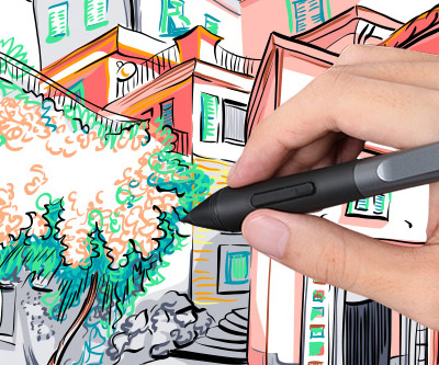 Inspiroy Ink Model: H320M (the most portable drawing tablet ever made)