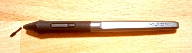 Inspiroy Ink's stulys without a nib.