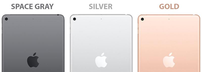 iPad mini 5 colors