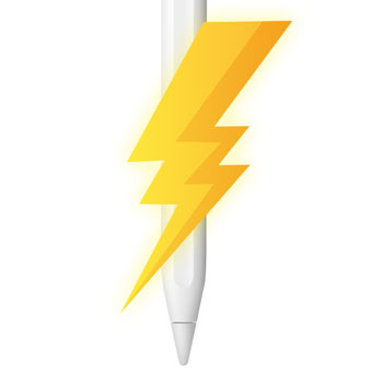 How can I charge my Apple Pencil without a charger?