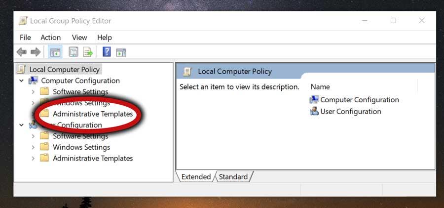 Windows Ink Administrative Templates